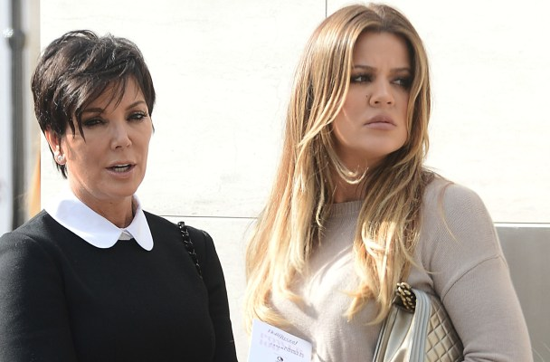 Kris Jenner and Khloe Kardashian leave Milk Studios