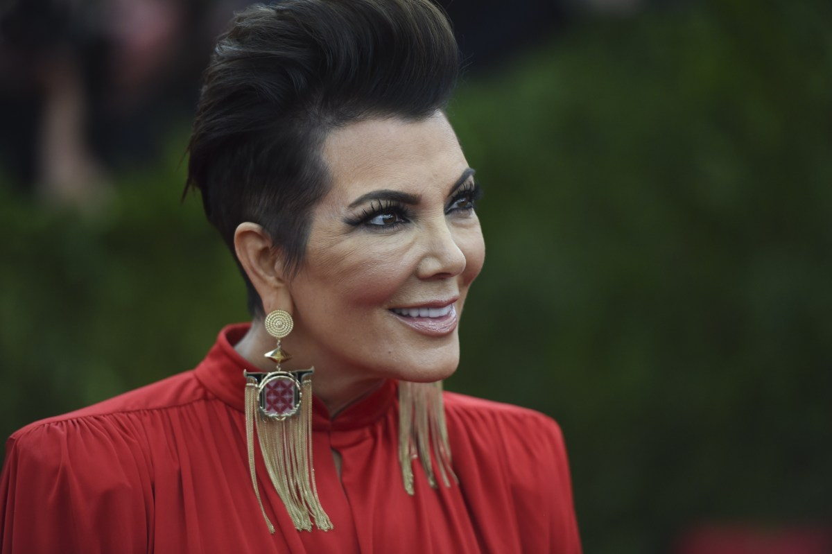 WTFace Kris Jenner At The Met Gala Star Magazine