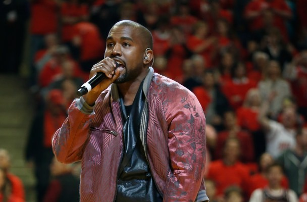 INF - Kanye West Performs 'All Day' During Timeout at Bulls-Cavaliers Game