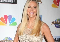 Reality TV star Kate Gosselin at the 'Celebrity Apprentice' Finale event at Trump Tower in NYC