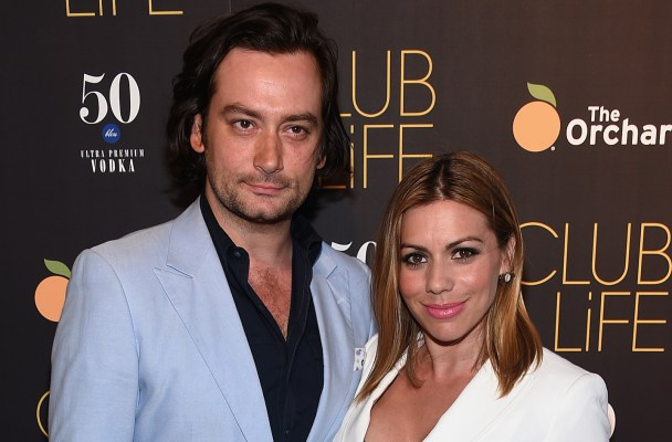 "NEW YORK, NY - MAY 26:   Constantine Maroulis (L) and Angel Reed attend the ""Club Life"" New York Screening at Regal Cinemas Union Square on May 26, 2015 in New York City.  (Photo by Dimitrios Kambouris/Getty Images)"