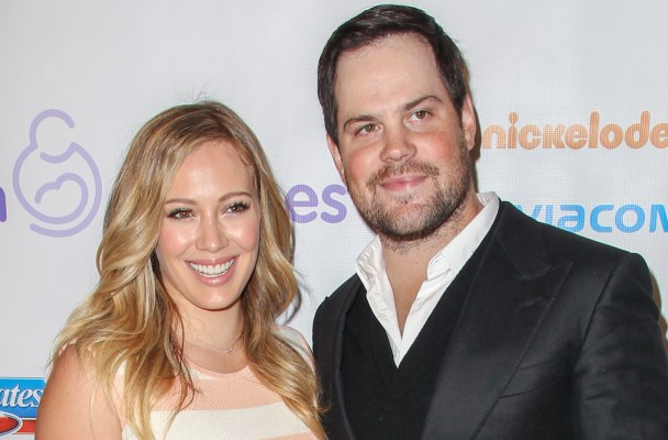 BEVERLY HILLS, CA - DECEMBER 07: Mike Comrie and Hilary Duff arrive at the March Of Dimes' Celebration Of Babies held at the Beverly Hills Hotel on December 7, 2012 in Beverly Hills, California.  (Photo by Paul A. Hebert/Getty Images)