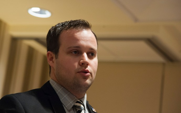 NATIONAL HARBOR, MD - FEBRUARY 28: Josh Duggar speaks during the 42nd annual Conservative Political Action Conference (CPAC) at the Gaylord National Resort Hotel and Convention Center on February 28, 2015 in National Harbor, Maryland. Conservative activists attended the annual political conference to discuss their agenda. (Photo by Kris Connor/Getty Images)