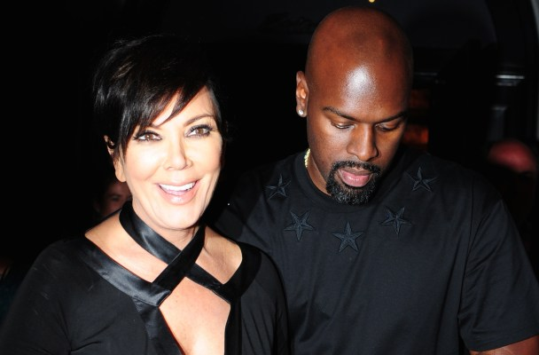 Kris Jenner and Corey Gamble leave Craig's on Melrose, CA  Pictured: Kris Jenner and Corey Gamble leave Craig's on Melrose, CA Ref: SPL1113017  300815   Picture by: DutchLabUSA / Splash News  Splash News and Pictures Los Angeles:	310-821-2666 New York:	212-619-2666 London:	870-934-2666 photodesk@splashnews.com