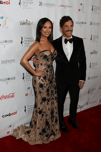 Cheryl Burke and George Kostiopoulos Host International FashionFilmAwards