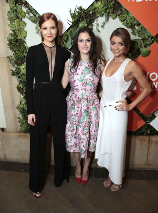 Darby-Stanchfield,-Rachel-Bilson-and-Sarah-Hyland-at-Share-Our-Strength's-Annual-No-Kid-Hungry-Dinner-in-Los-Angeles-held-at-The-Four