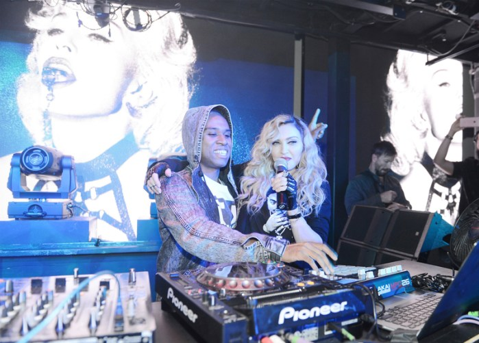 Official Rebel Heart Tour After Party Hosted By Madonna At MarqueeNightclub
