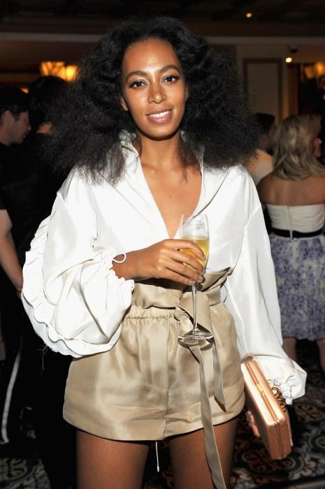 CFDA/Vogue Fashion Fund Dinner At BouchonBeverlyHills