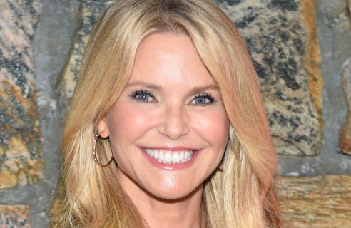 """Model Christie Brinkley arrives at the Hamptons Sneak Screening of Open Road Films' """"Rock the Kasbah"""" on Friday, Aug. 28, 2015 in East Hampton, N.Y. (Photo by Scott Roth/Invision for Open Road Films/AP Images)"""