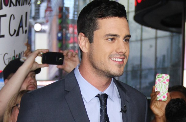 ***MANDATORY BYLINE TO READ INFPhoto.com ONLY*** The New 'Bachelor' Ben Higgins stops by 'Good Morning America' in New York City.  Pictured: Ben Higgins Ref: SPL1109611  250815   Picture by: Roger Wong/INFphoto.com