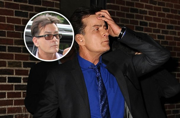 charlie sheen hiv positive anger management stopped filming