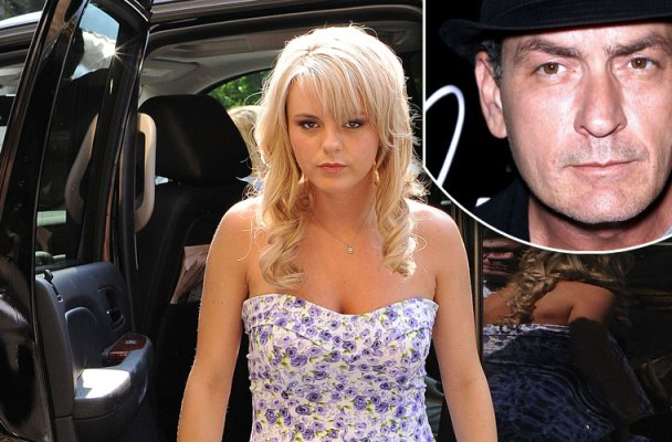 charlie sheen hiv positive bree olson tested