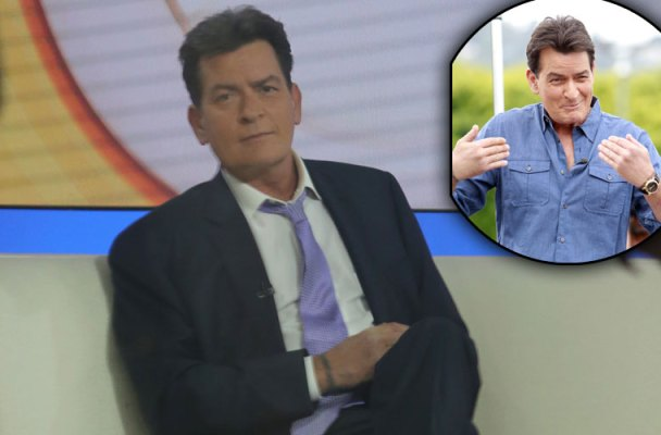 charlie sheen hiv positive interview doctor