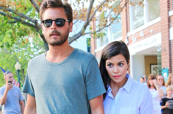 Scott Disick and Kourtney Kardashian go for dinner at Southampton Historical Museum in Southampton, NY.  Pictured: Scott Disick and Kourtney Kardashian Ref: SPL794830  020714   Picture by: XactpiX / Splash News  Splash News and Pictures Los Angeles:	310-821-2666 New York:	212-619-2666 London:	870-934-2666 photodesk@splashnews.com