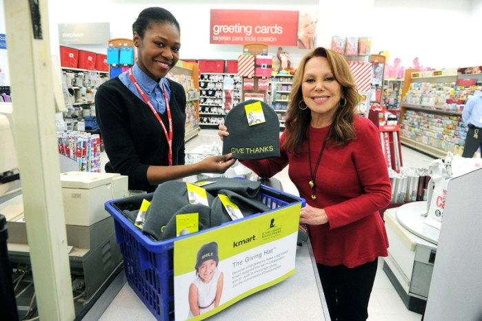 Marlo Thomas at Kmart Picking Up The Giving Hat Benefiting St Jude Childrens Research Hospital