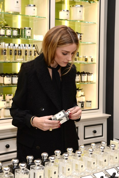 Olivia Palermo Holiday Shopping At The Jo Malone LondonBoutique