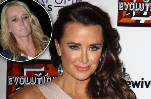 kim richards kyle richards rhobh relationship