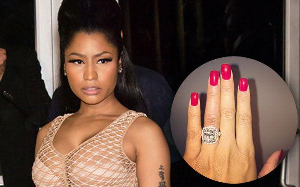 nicki minaj engaged meek mill rumors