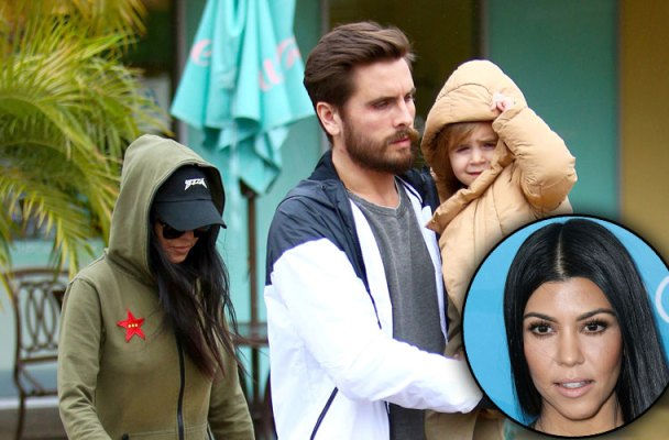 kourtney kardashian scott disick relationship co parenting plan