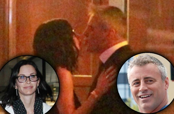 matt leblanc courteney coz dating kiss