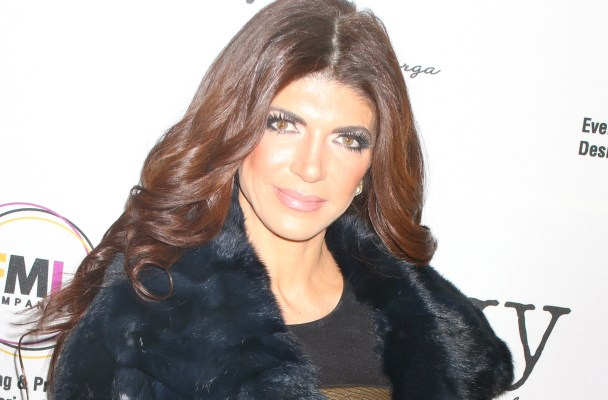 Teresa Giudice makes first public appearance since leaving jail as she for the opening of Real Housewives of New Jersey (RHONJ) Melissa Gorga's new clothing boutique - envy by Melissa in Montclair, NJ.  Pictured: Teresa Giudice Ref: SPL1202518  140116   Picture by: MACGYVER / Splash News  Splash News and Pictures Los Angeles:310-821-2666 New York:212-619-2666 London:870-934-2666 photodesk@splashnews.com
