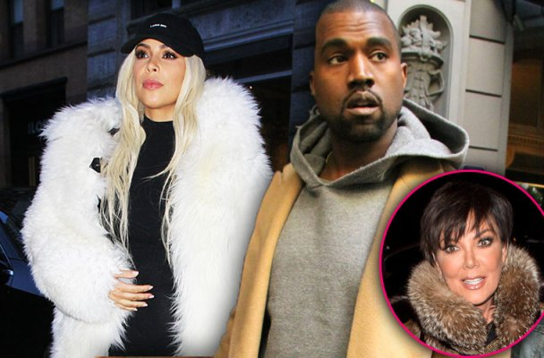 kim kardashian kanye west broke fights yeezy fashion line kris jenner