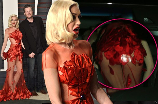 gwen-stefani-wardrobe-malfunction-dress-butt-blake-shelton-oscars-01