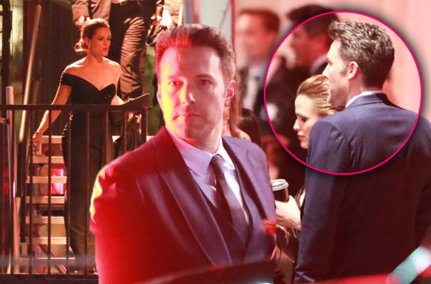 Jennifer Garner Ben Affleck Oscars Vanity Fair Party
