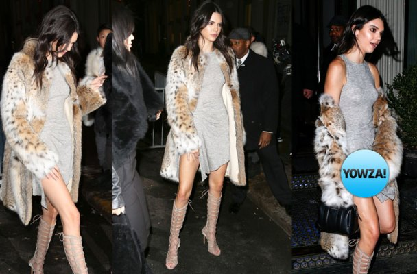 kendall jenner wardrobe malfunction dress kylie launch collection brad goreski