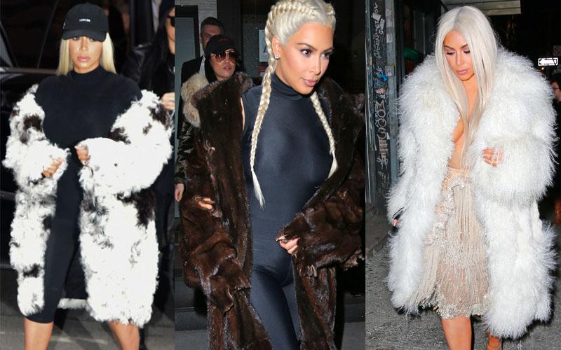 How To Stay Warm Like Kim Kardashian At New York Fashion
