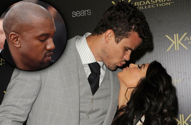kris humphries kanye west jealous kim kardashian marriage