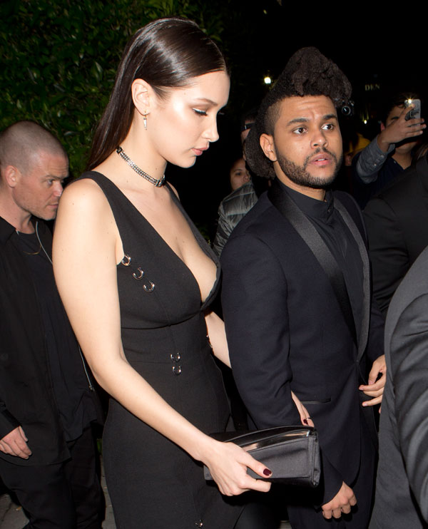 New romance! Bella Hadid 'dating' singer The Weeknd... and has already ...