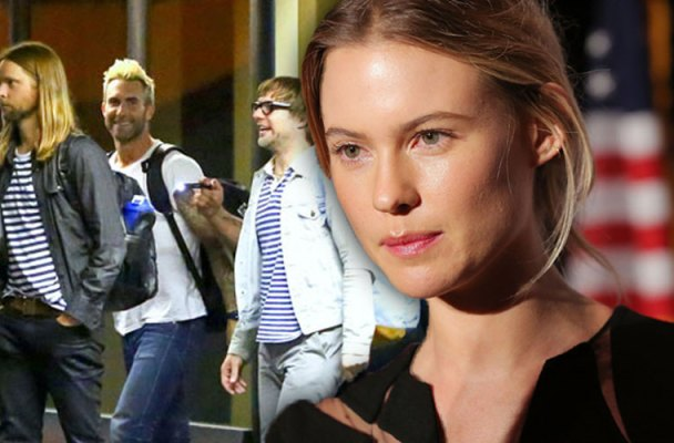 adam levine without pregnant behati prinsloo