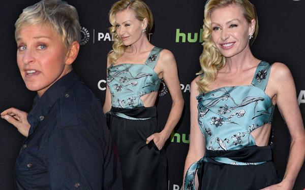 Ellen DeGeneres Wife Portia De Rossi Skinny Ribs Pics 4