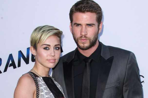 "(FILE) Miley Cyrus and Liam Hemsworth call off their engagement, announced Monday, September 16, 2013. Miley Cyrus and Liam Hemsworth are pictured at the ""Paranoia"" Los Angeles premiere held at DGA Theater on August 8, 2013 in Los Angeles, California.  Pictured: Miley Cyrus and Liam Hemsworth Ref: SPL614857  160913   Picture by: Xavier Collin/Celebrity Monitor/ Splash News  Splash News and Pictures Los Angeles:	310-821-2666 New York:	212-619-2666 London:	870-934-2666 photodesk@splashnews.com"