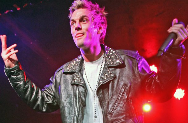 aaron carter comeback interview exclusive