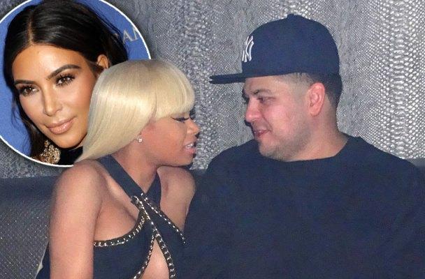 blac chyna rob kardashian engagement no prenup kim kardashian