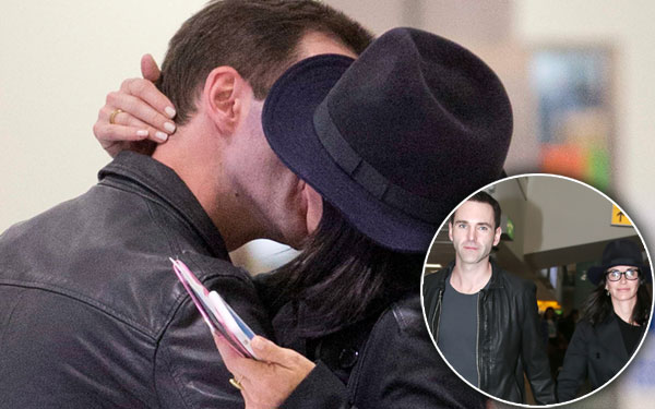 Courteney Cox Johnny McDaid Engagement Back Together Kissing Pics 6