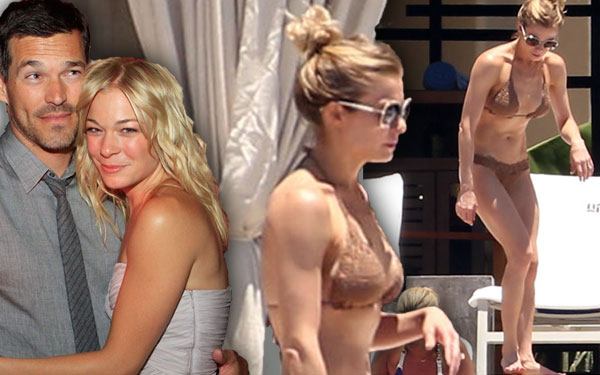 Leann Rimes Husband Wedding Anniversary Hawaii Baby Struggle Pics 4