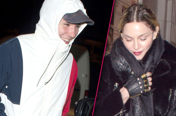 Madonna Rocco Ritchie Reunited Night Together London