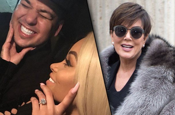 rob-kardashian-blac-chyna-engaged-wedding-plans-kris-jenner-money-plans