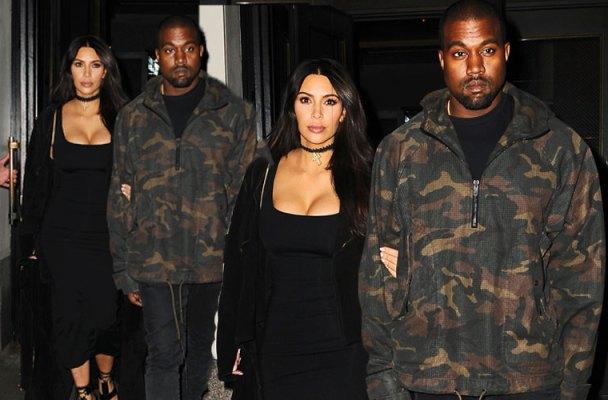 kim kardashian kanye west divorce pics