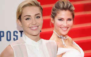miley cyrus elsa pataky matching tattoos pic