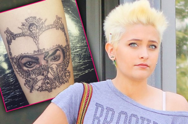 paris jackson michael jackson tattoo instagram pic