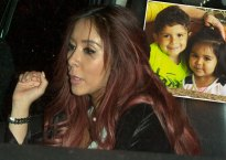 snooki nicole polizzi partying drinking away from kids