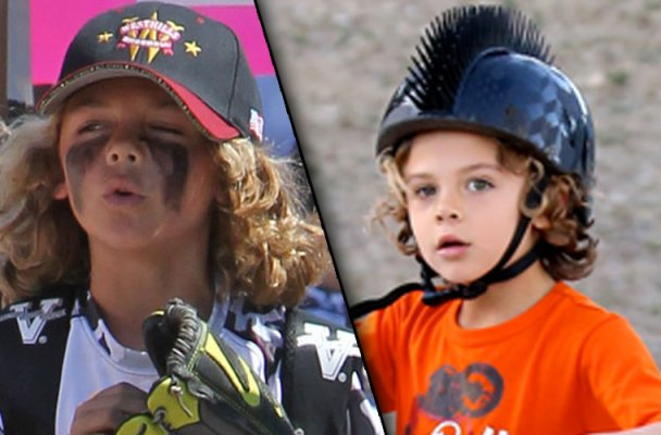 hank baskett kendra wilkinson son hank baskett jr grown up baseball game pics