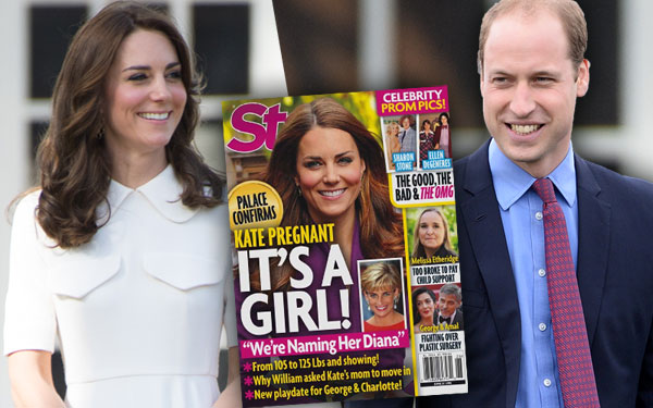 Kate Middleton Pregnant Baby Bump Girl Rumors Name Diana Pics 4