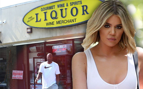 Lamar Odom Liquor Store Revenge Khloe Kardashian Birthday Pics 3