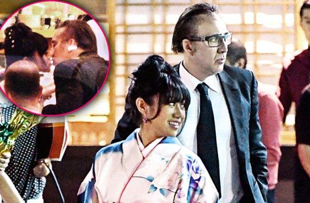 nicolas cage divorce date mystery woman kimono