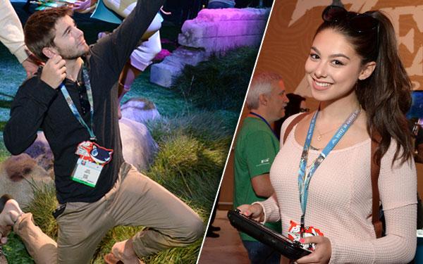 Nintendo E3 Event Jack Griffo Kira Kosarin Pics 5